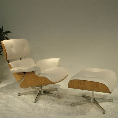 china white leather eames lounge chairs china eames