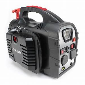 Husky 8-in-1 12-volt Power Source  Jumpstarter-7481