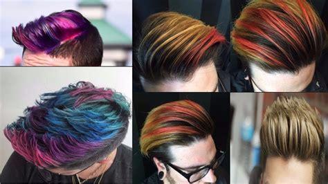 Men's Hair Color Trends 2018