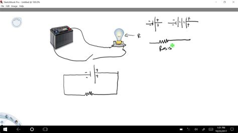 How Draw Simple Circuit Diagram Youtube
