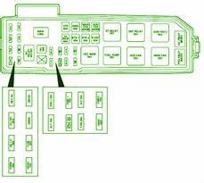 Ford Fuse Box Diagram  Fuse Box Ford 2001 Escape Under