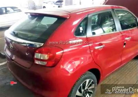 toyota glanza interiors spied confirms
