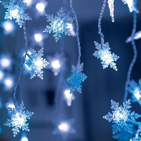 lytworx blue 180led snowflake icicle lights bunnings