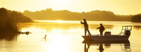 fishing bass resort package florida guided spots sunset fisherman header around reeling recreation lures screwy lewy packages spa explore tee