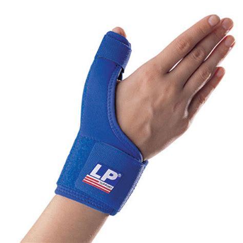 lp 763 professional thumb spica metal splint brace support