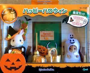 furniture kitchen sets teddy bears friends sylvanian families jp trick or
