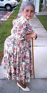 Granny costume - don't buy when you can make it yourself ...