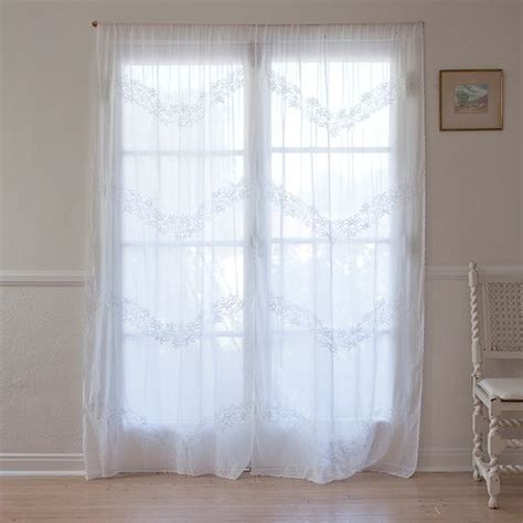 shabby chic voile curtains 17 best images about guest bedroom inspiration on pinterest guest rooms h m and simply shabby