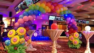 Kids Birthday Party Balloon Decorations - YouTube