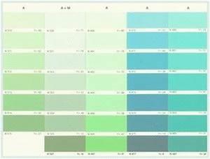 Wandfarben Palette Pastel Wunderbare Inspiration Pastell Wandfarben