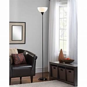 Mainstays, Floor, Lamp, With, Bulbs, Included, Black, -, Walmart, Com
