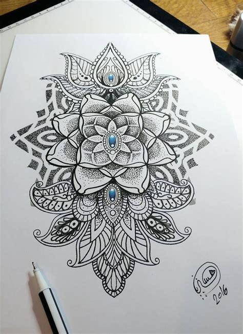 mandala dotwork style mehndi   hysteria tattoo