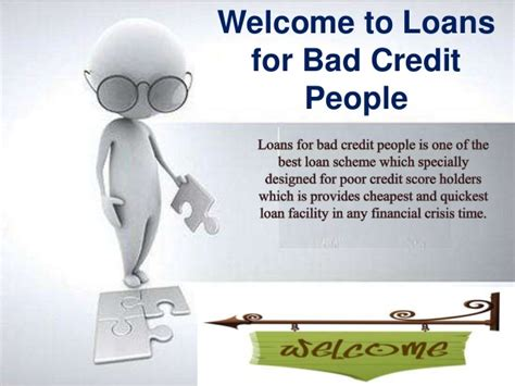 Loans For Bad Credit People- Hassle Free Money Support For