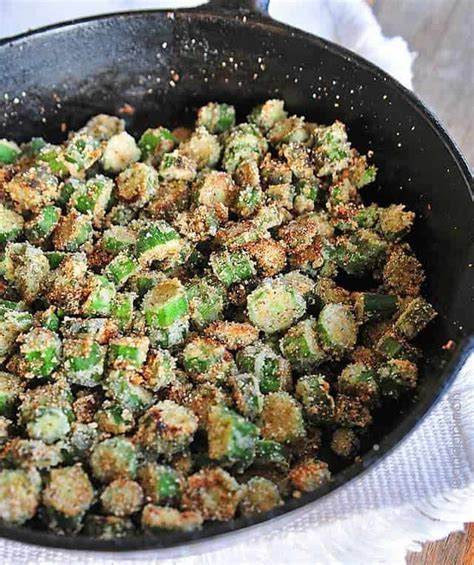 okra recipe fried okra recipe add a pinch