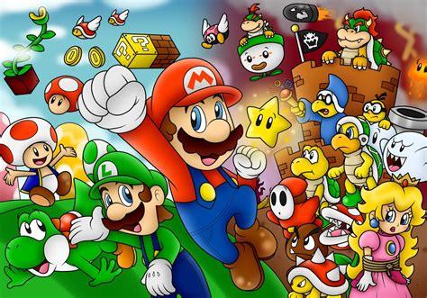 Super Mario Wallpaper 3d 14248 Wallpaper Walldiskpaper