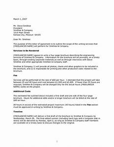 letter of agreement samples template template ideas With how to write a business contract letter