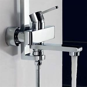Colonne De Douche Pour Baignoire : colonne de douche et bain nova ~ Edinachiropracticcenter.com Idées de Décoration