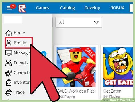 ways  play roblox wikihow