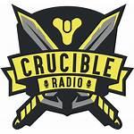 Crucible Radio Clipart Transparent Clip Destiny Pinclipart