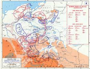 German Invasion of Poland Map