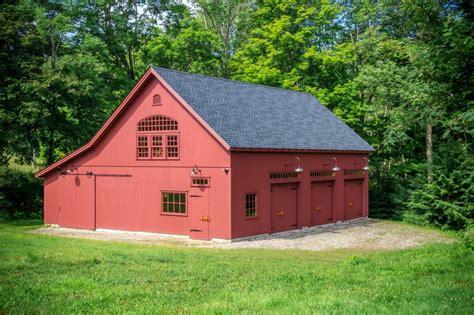 New Barn Garage by A New Barn In An Historic District The Barn Yard
