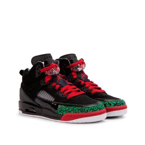 Nike Leather Nike Air Jordan Spizike Gs In Black For Men