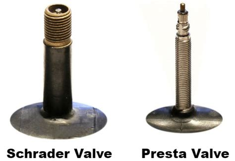 Types Of Motorcycle Tyre Valves
