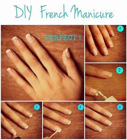 Manicure French Tutorial Nail Diy Nails Tutorials