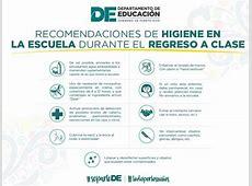 Educación y Salud realizan recomendaciones de higiene para