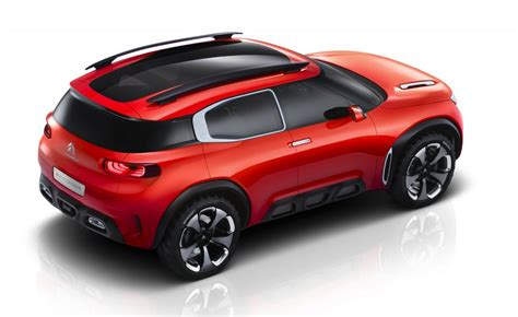 citroen aircross concept revealed potential future suv