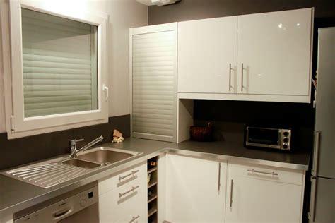 meubles de cuisine haut meuble a rideau cuisine pas cher