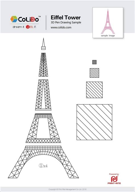 eiffel tower cake template sampletemplatess