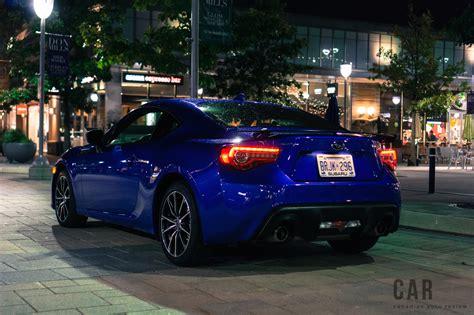 review  subaru brz sport tech canadian auto review