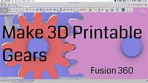 Striking Printable Gears