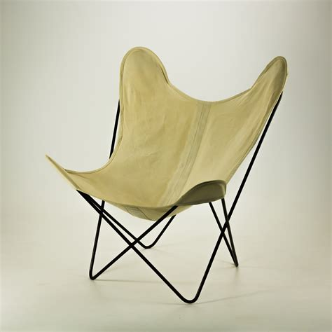 50 s knoll canvas butterfly fauteuil by jorge
