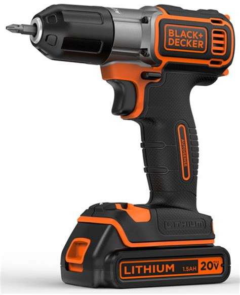 New Black & Decker Brand Identity And Cordless Drill With