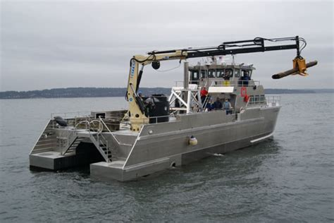 Pioneer Work Boats by Ic0733 27m Catamaran Workboat
