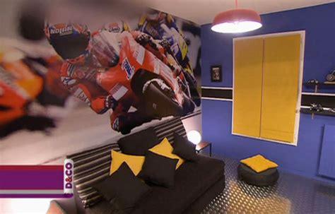 chambre moto deco chambre garcon moto