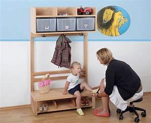 Garderobe Für Kinder : krippen komplett garderobe 3 boxen ~ Frokenaadalensverden.com Haus und Dekorationen
