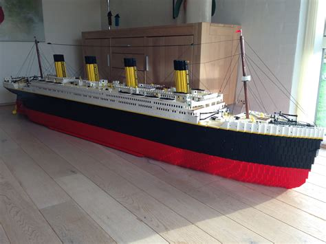 Lego Ship Sinking Titanic by Top 5 Lego Structures Landsalot