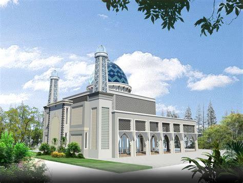 contoh desain menara masjid contoh
