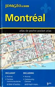 Montreal  Pocket Street Atlas  French  English Edition By Canadian Cartographics Corporation