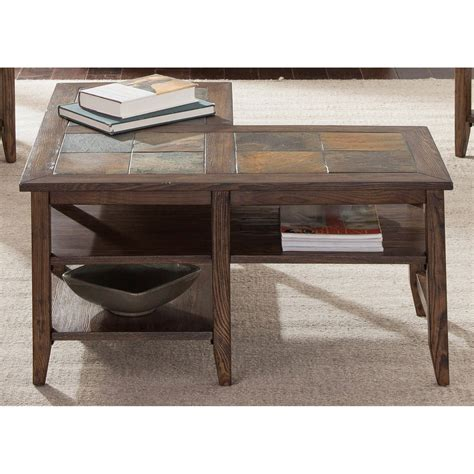 Table L by Liberty Furniture Brookstone L Shaped Table