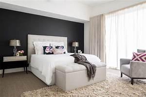 Chambre Avec Mur Noir. comment utiliser le noir sur les murs ...