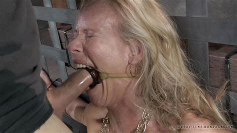 Simone Sonay In Simone Gets Brutally Mouth Fucked Hd