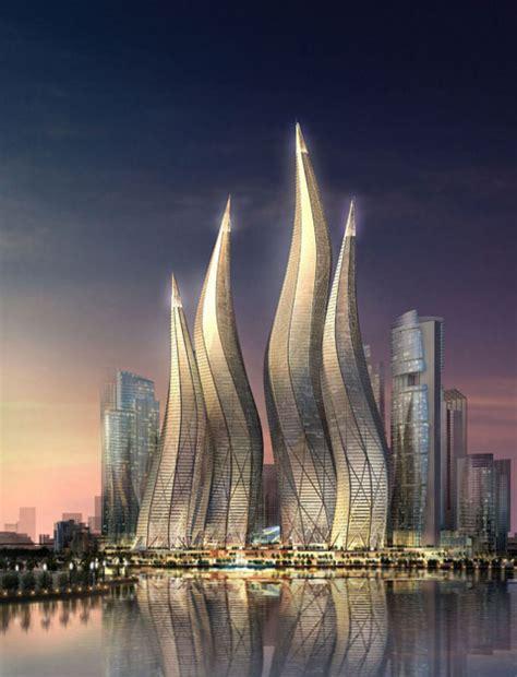 famous buildings   world dubai tower uae