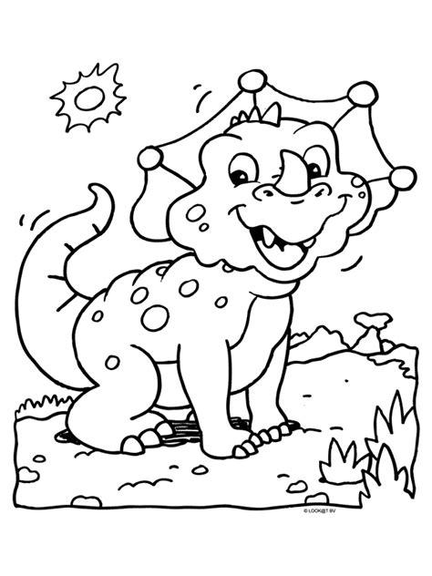 Kleurplaat Dinosaurussen by Kleurplaat Dino Thema Dino Dinosaurussen