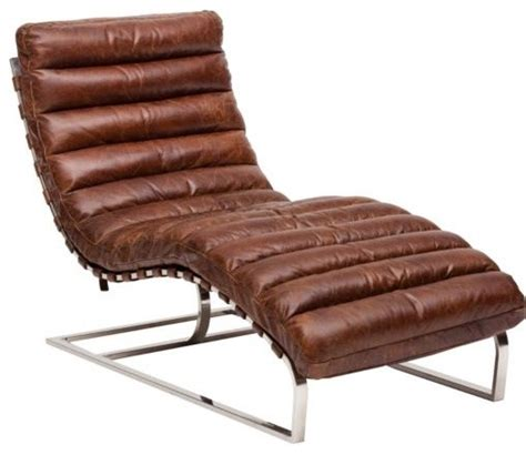 leather chaise longue uk oviedo leather lounge vintage cigar high fashion home