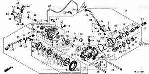 Honda Side By Side 2017 Oem Parts Diagram For Front Final
