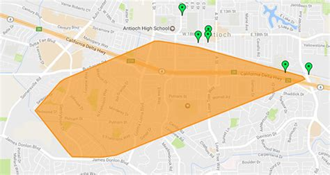 antioch power outage impacting  pge customers